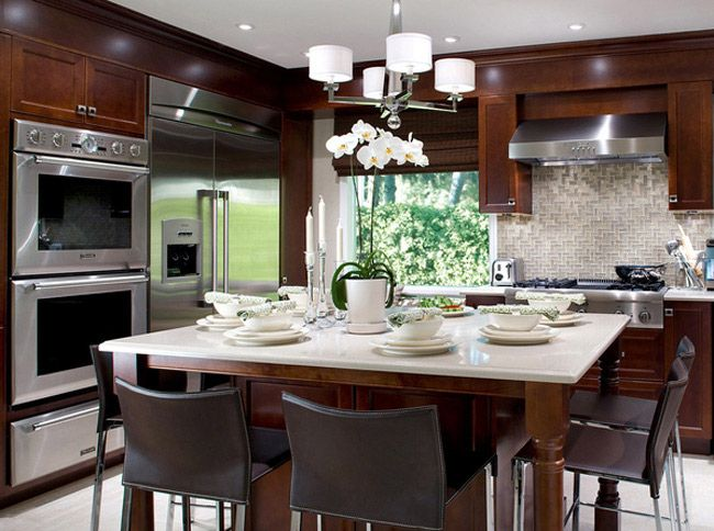 die besten 25 freistehende k che ideen auf pinterest freistehende k chenschr nke grauer. Black Bedroom Furniture Sets. Home Design Ideas
