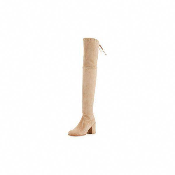 Stuart Weitzman Tieland Suede Over the Knee Boot ($798