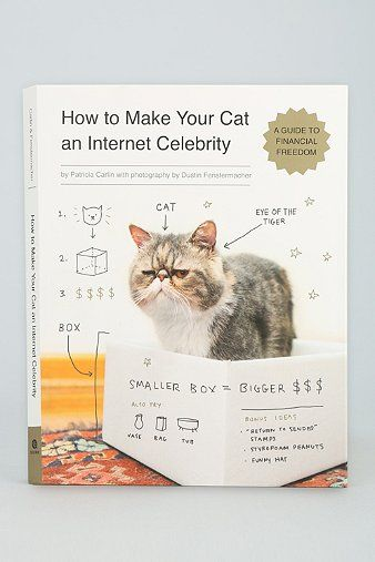How To Make Your Cat An Internet Celebrity: A Guide To Financial Freedom By Patricia Carlin