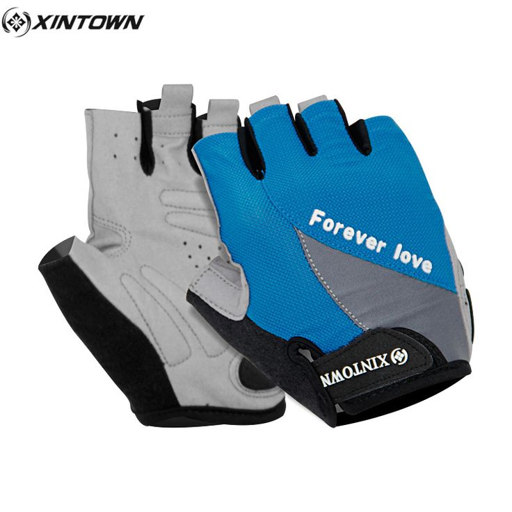 XINTOWN Mountain Bike Fingerless Guantes Mtb Bicycle Cycling GEL Glove Bicicleta Para Ciclismo Luvas Fitness Sports Gloves #Affiliate