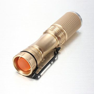 Meco XPE-Q5 600 Lumen 7W Zoomable LED Flashlight For 1xAA 1.2V - US$2.45