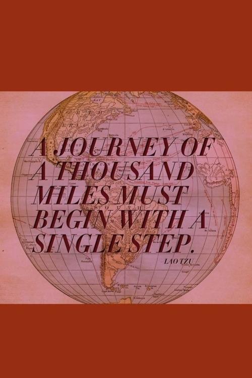 A single step, take it!