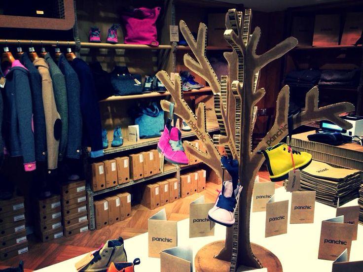 Arredi e scenografie ecosostenibili per negozi