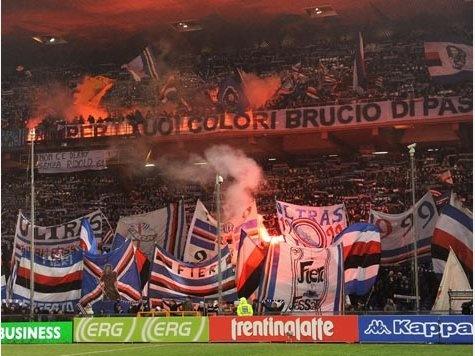 These colours don't run. Forza Doria! #Sampdoria