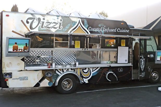 #57 Vizzi Truck (Los Angeles) - See all 101 Best Food Trucks in America 2014 Here: http://www.thedailymeal.com/101-best-food-trucks-america-2014-slideshow