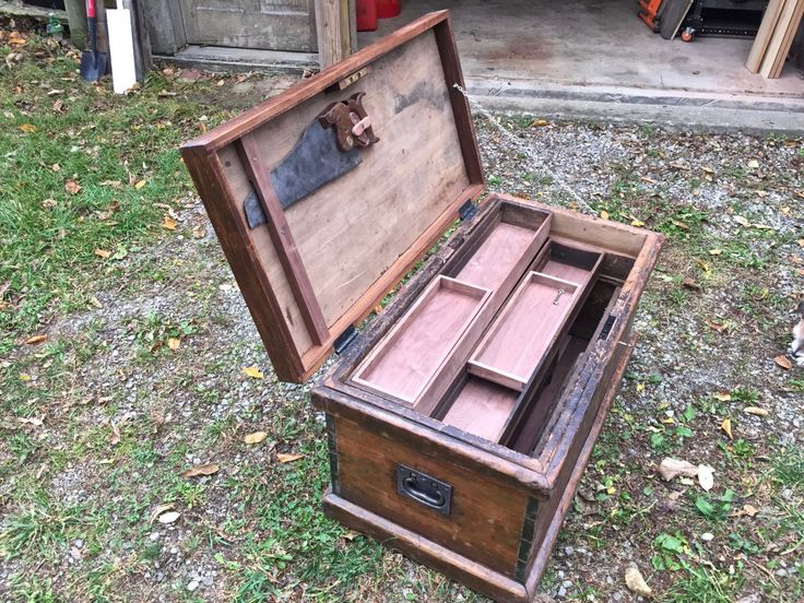 Joiner's Tool Chest Restored By Donhatch