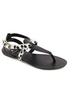 Siyah Deri  Sandalet https://modasto.com/pieces/kadin-ayakkabi/br2509ct13 #modasto #giyim