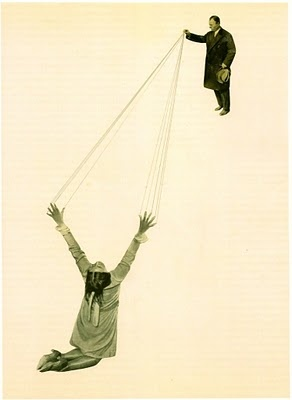 Pinned 30.6.13: a photomontage by Marianne Brandt