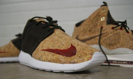 "Nike Roshe Run FB ""Cork"" by AMAC Customs"