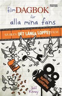 http://www.adlibris.com/se/organisationer/product.aspx?isbn=9163898292 | Titel: Filmdagbok för alla mina fans : så blev Det långa loppet film - Författare: Jeff Kinney - ISBN: 9163898292 - Pris: 120 kr