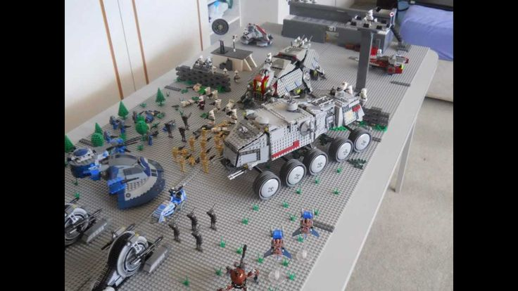 Lego battle moc lego star wars clone base battle moc legos pinterest watches war and - Lego star wars base droide ...