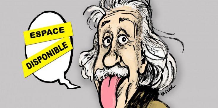 """Albert Einstein a laissé à la postérité un florilège de formules percutantes... que certains n'ont pas hésité à """"enrichir"""", en attribuant au savant des citations parfois extravagantes. #HPI #ydem"""