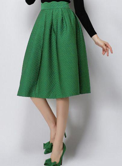 Shop Green High Waist Plaid Skirt online. SheIn offers Green High Waist Plaid Skirt & more to fit your fashionable needs.