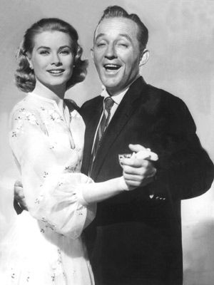 Grace Kelly with Bing Crosby as Trace and Dexter in High Society