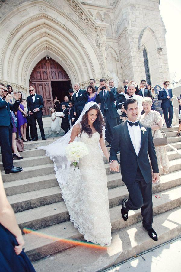 Cathedral Wedding Exit - Elizabeth Anne Designs: The Wedding Blog
