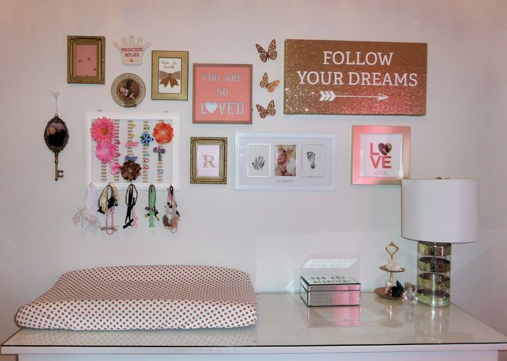 17 Best Ideas About Pink Gold Nursery On Pinterest Pink