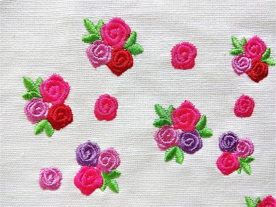 Accent Mini Rose Small Rose Small Flower Mini Roses Mini Wee Machine Embroidery Design Big Set 0 8 And 1 Inch Rose Embroidery Machine Embroidery Designs Rose Embroidery Designs Flower Embroidery Designs