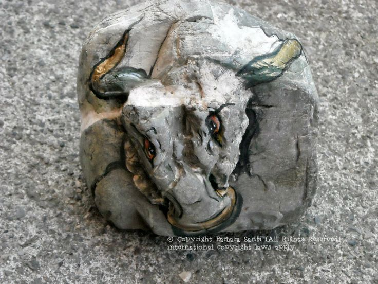 il mondo in un sasso #toro #taurus #animalier  © Copyright Barbara Santi (All Rights Reserved) international copyright laws apply  www.barbarasanti.com