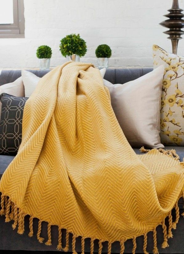 Pin By Cynthia On Room In 2019 Yellow Throw Blanket Cute