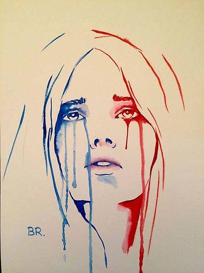 Zeichnungen zum Anschlag in Paris – Ju mei