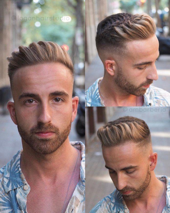 30 Coiffures Pour Homme Aux Cheveux Degarnis Coiffure Homme Coiffeurs Pour Homme Cheveux Gomines