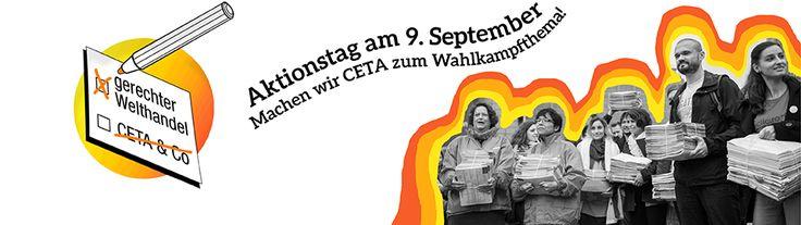 Hamburg: Demo zum Aktionstag gegen CETA  Treffen am Hauptbahnhof, Ausgang Glockengießerwall um 11.oo - 11.30 Uhr, dann über die Spitalerstraße und Mönckebergstr. zum Gänsemarkt. Dort Kundgebung 12.30 bis 13.oo Uhr. Adresse 20099 Hamburg, Hauptbahnhof