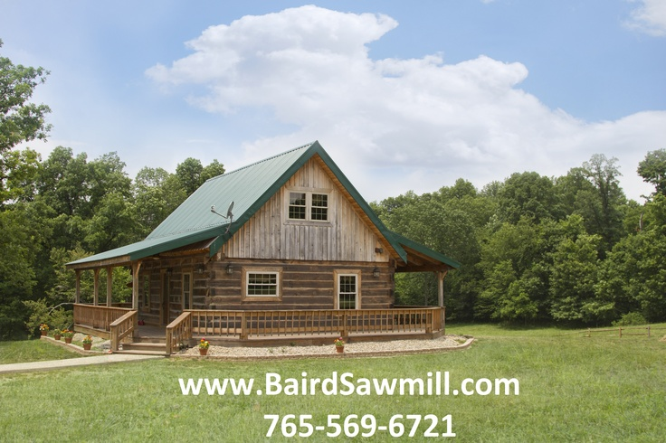 Baird Sawmill Timber Frame Log Cabins for Sale www.bairdsawmill.com 765-569-6721 Also sell custom made furniture, customized leather curtains, log home lighting, and faux rock walls with a model home on site. #bairdsawmill