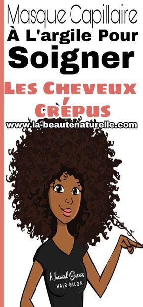 Masque de cheveux d'argile pour le traitement des cheveux crépus # cheveux # crépus   – Coiffure et beauté