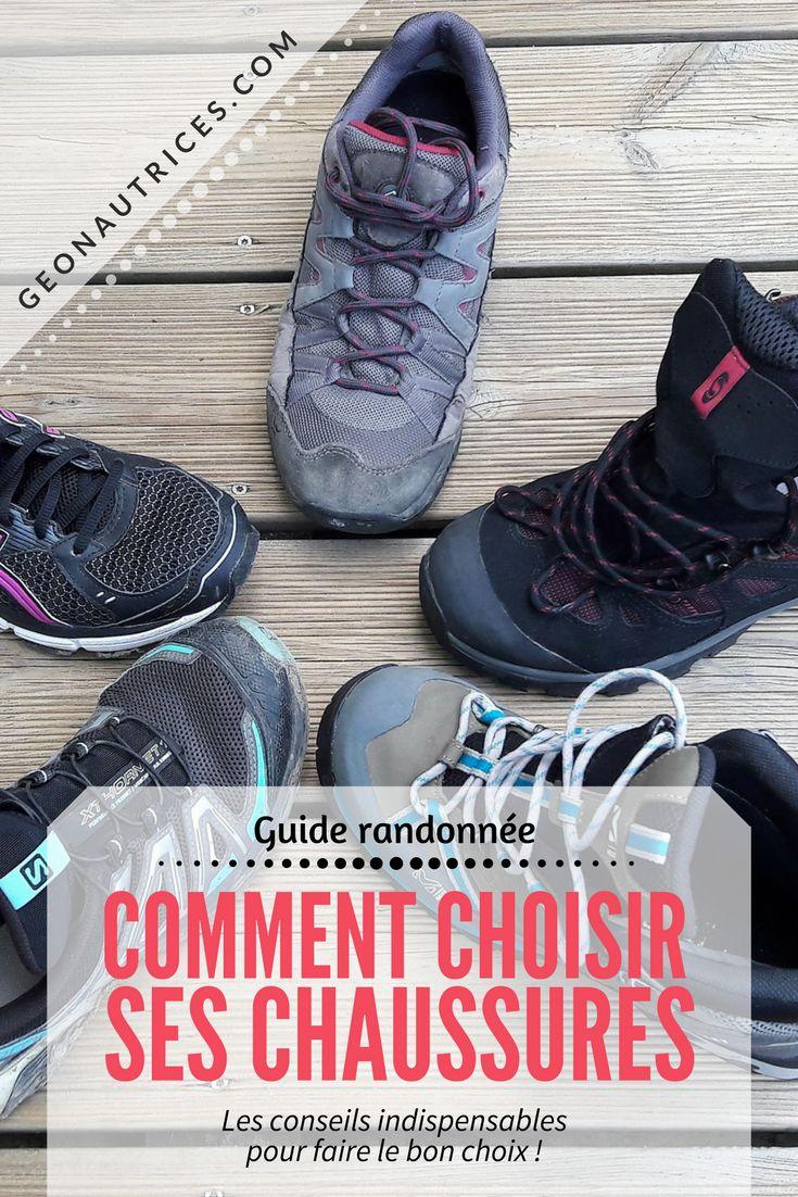 En randonnée, il est important de bien choisir son matériel, notamment ses chaussures. Dans ce guide, on vous explique comment bien choisir vos chaussures de randonnée. Chaussures de running, chaussures de trail, chaussures de randonnée basse, chaussures de randonnée semi-montantes, chaussures de randonnée haute (treks ou longues randonnées). On vous explique tout !