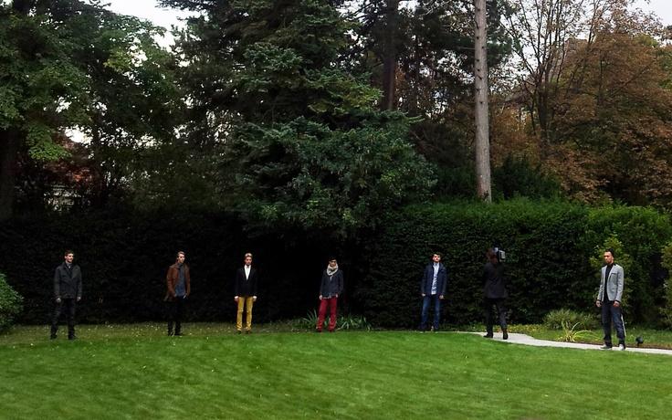 Vienna 2012 - Show at Norway Embassy  #johnnylove #ceciliemelli #famirvoll