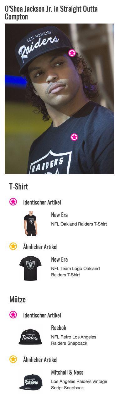 """""""Was macht ein junger Rapper aus Compton, wenn er zu so viel Geld kommt?"""" wird Ice Cube (O'Shea Jackson Jr.) bei einer seiner ersten Pressekonferenzen gefragt. """"Er kauft sich Klamotten von Raiders"""" lautet seine schlagfertige Antwort. Die verleihen ihm ein richtig cooles Outfit, das unabhängig ist von den aktuellsten Trends in der Modewelt, wie dieses T-Shirt exemplarisch zeigt."""
