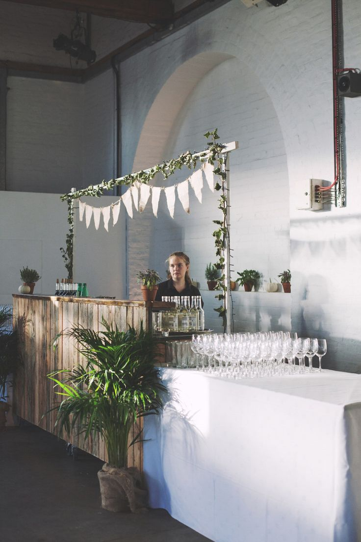 A Botanical Inspired 'Outdoors Indoors' Wedding on London Wharf.  Images by Hearts on Fire Photography.