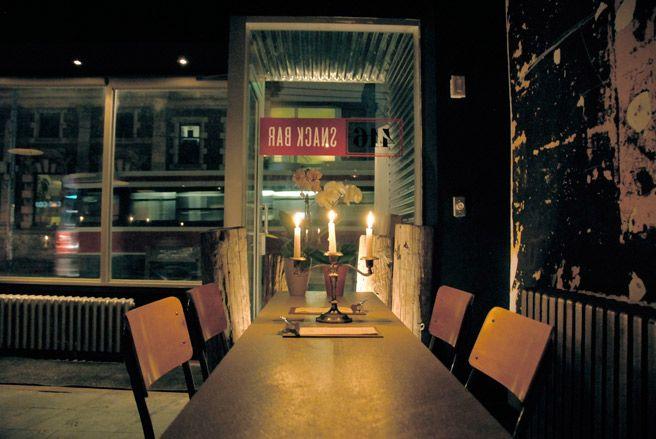 416 Snack Bar, Bathurst St., Toronto.
