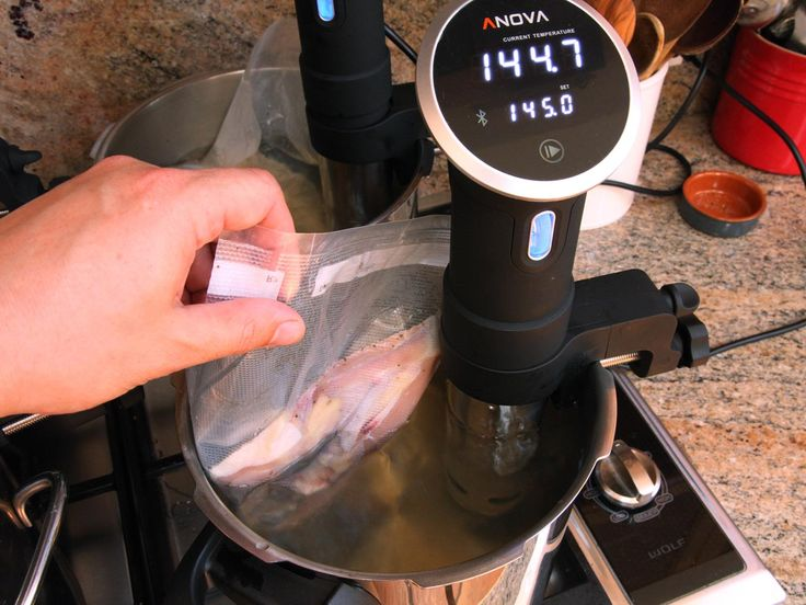 The Pinterest 100: Sous vide (pronounced sue-veed) is the fancy name for a set-it-and-forget-it way of cooking. Seal your ingredients in a plastic bag, cook them in water then pour yourself a drink and relax. Your steaks will be the stuff of legend.