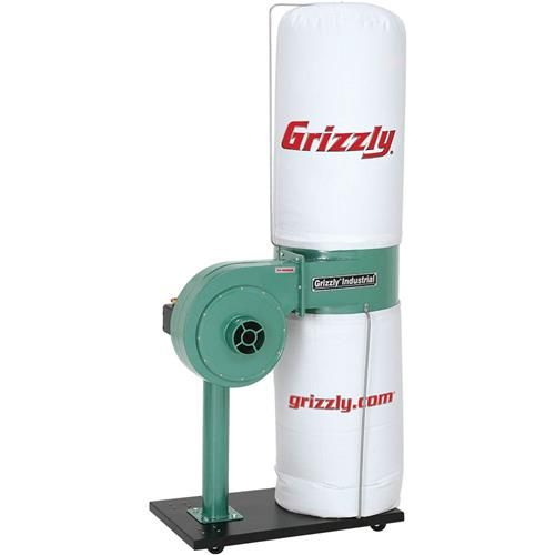 Shop our G8027 - 1 HP Dust Collector at Grizzly.com