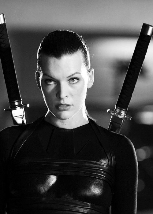 mila jovovich, resident evil not a big fan of the movies but she's bad!!!  -  #residentevil                                                                                                                                                      More