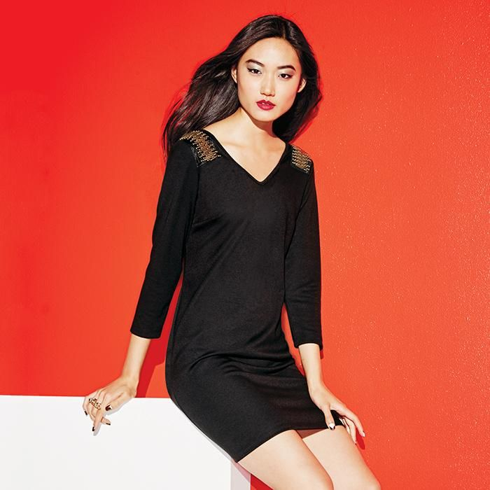 mark. BOLD AS BRASS DRESS: You can find this & more in #AvonOutlet at www.youravon.com/jantunes. #fashion #holidaylook