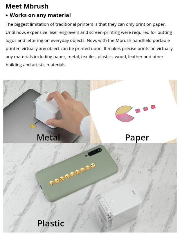 50 Off 2020 New Color Handheld Printer Gigasweet