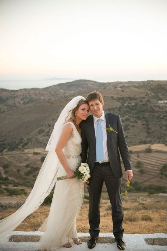 Classic Greek Island Wedding
