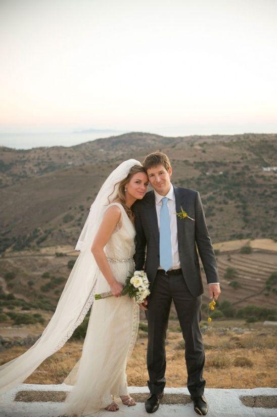 Classic Greek Island Wedding