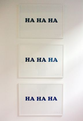 """Colin Guillemet, Allen Grubesic  """"The Ha-Ha Crystal"""" at Maria Stenfors."""