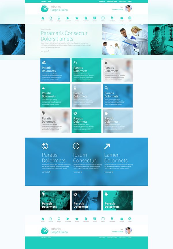 Client : Hospital Mãe de DeusWork : web design, art direction and user interface…