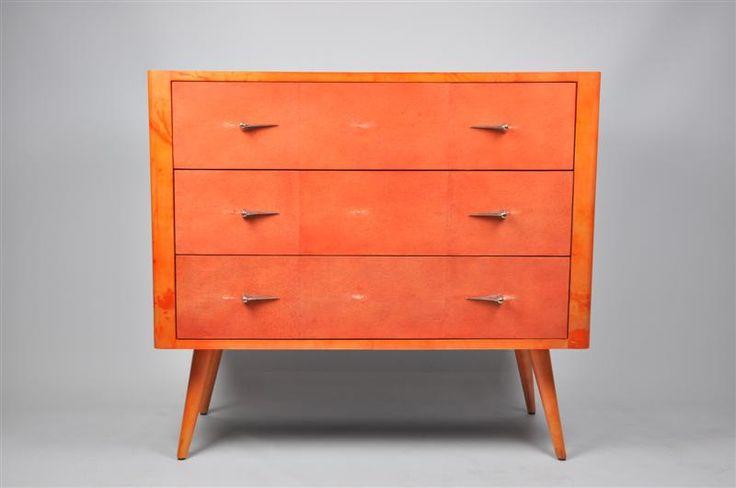 ginger brown furniture commode galuchat sputnik design. Black Bedroom Furniture Sets. Home Design Ideas