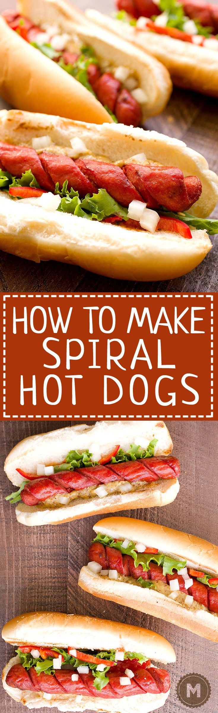 How to Make Spiral Hot Dogs: You are one quick tip away from completely changing your grilling game this year. This fast prep takes your average hot dog to…