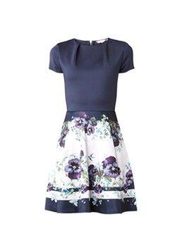 Ted Baker Stefh A-lijn jurk met bloemenprint