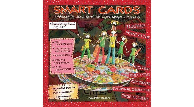 Smart Cards - Kezdő szint (angol nyelvű játék)  Íme egy magyar fejlesztésű társasjáték, angolul tanulóknak ;-) #smartcards #okosodjvelunk