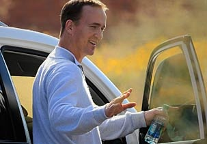 Offense and Elway lured Peyton to Broncos: Lures Peyton, Buds Adam, Coach Mike, General Management, Management Ruston, Man Fans, Head Coach, Peyton Man, Owners Buds