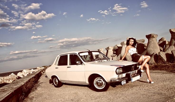 Dacia 1300, Romanian Renault 12 copy, has been the Romanian ubicuous car, produced at Piteşti between 1969 and 2004.