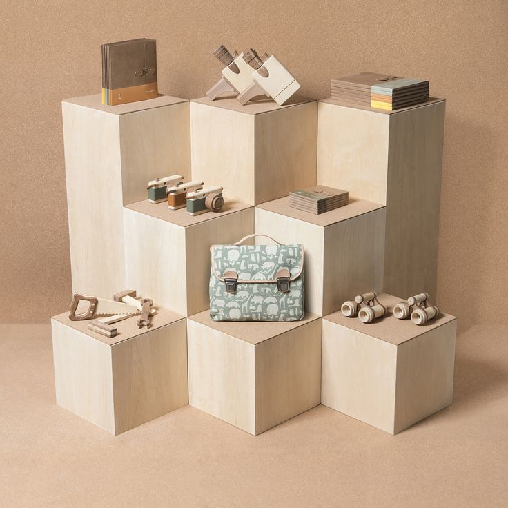 Modern display by Fanny & Alexander toys