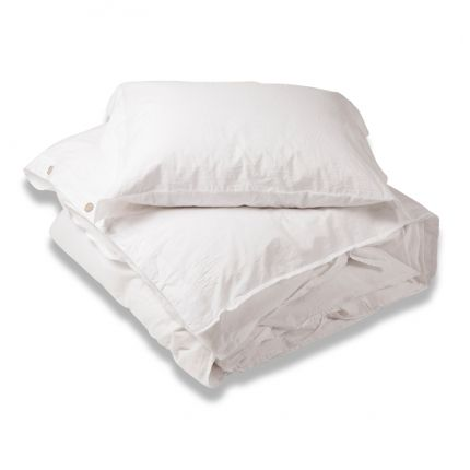 TRIPLE-X DUVET SET - WHITE